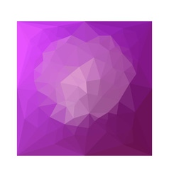 Eminence Violet Abstract Low Polygon Background vector