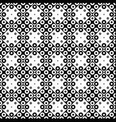 ring pattern background - black and white design vector image
