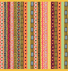 colored seamless pattern of stripes vector image