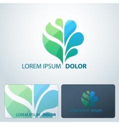 Logotype Ecology vector image