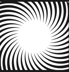 Abstract black and white spiral background art vector