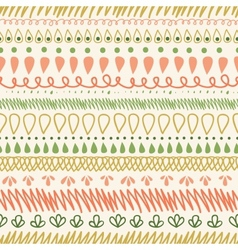 Abstract Stripes Horizontal Seamless Pattern vector image