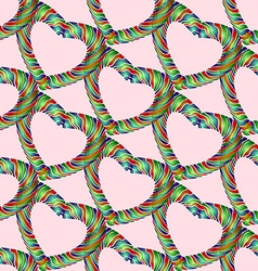 Candy heart pattern3 vector image