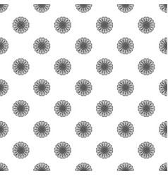 chamomile pattern seamless vector image