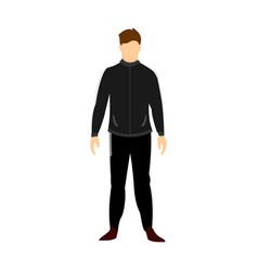 Coach football uniform vector