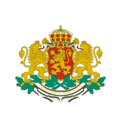 coat of arms of Bulgaria vector image vector image