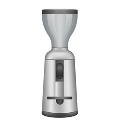 Coffee grinder icon realistic style vector