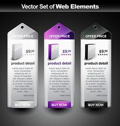 display banner vector image
