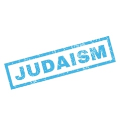 Judaism Rubber Stamp vector