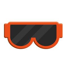 Snorkel goggle icon vector