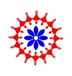 Arabic pattern geometry pattern in vector image vector image