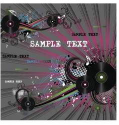 disco illustration vector image vector image