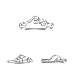 Design of man and foot symbol set of man vector