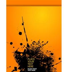 grunge splash vector image