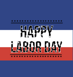 happy labor day collection background vector image