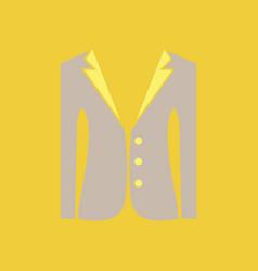 Jacket woman fashion female coat women suit vector