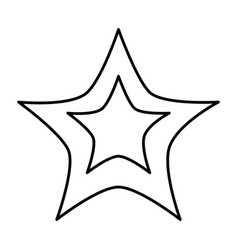 Line light star art sky design vector