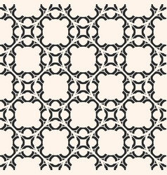 monochrome abstract geometric ornament arabesque vector image