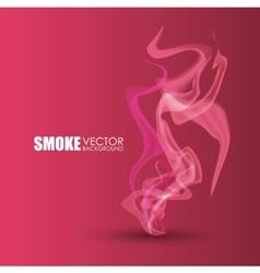 Smoke icon design vector image