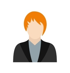 Woman avatar icon vector image