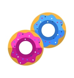 Donuts icon vector image