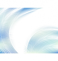 feathered background vector image vector image