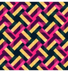 Abstract geometric background with multicolor vector image