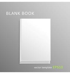 Blank book vector