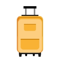 colorful travel bag graphic vector image