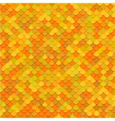 Fish scales texture art vector image