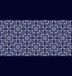 Geometric ethnic style seamless pattern vector