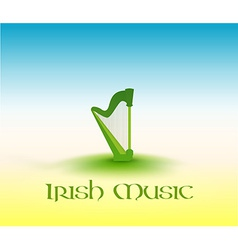 Irish Music vector image