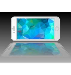 modern phone vector image