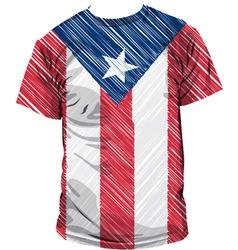 Puerto Rico tee vector