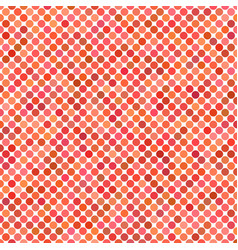 Red circle pattern background vector