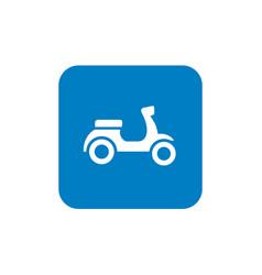 Retro scooter icon design vector