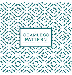 seamless dots pattern and modern stylish texture vector image