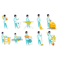 set of with cleaner character vector image