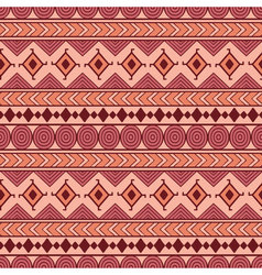 Tribal seamless pattern Ethnic abstract geometric vector image