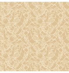 Vintage ribbons and scrolls vector image vector image