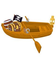 Rowboat vector image