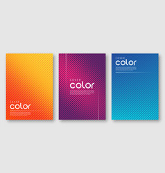 Abstract gradient geometric cover designs vector