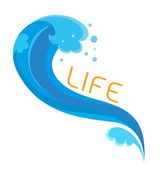 BlueWave vector image