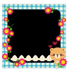 photo framework vector image
