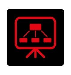 Scheme Screen Icon vector image