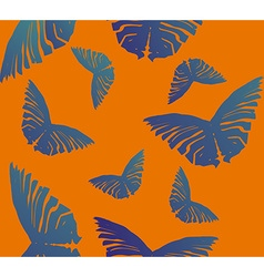 Seamless Butterfly Pattern2 vector image
