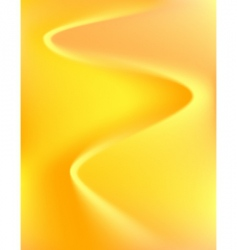 yellow bends vector image