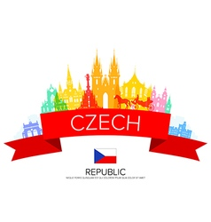 Czech vector image