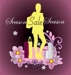 season sale vector image