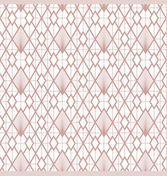art deco seamless vintage decorative rose vector image